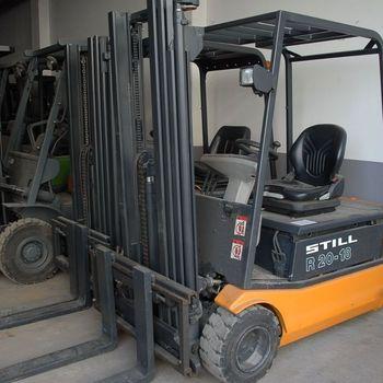 STILL R2018 triplex: