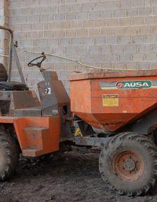 DUMPER diesel 4x4 3t5 ausa: