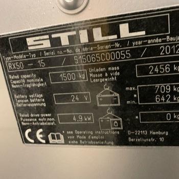 STILL RX50 15 1500 kg Triplex